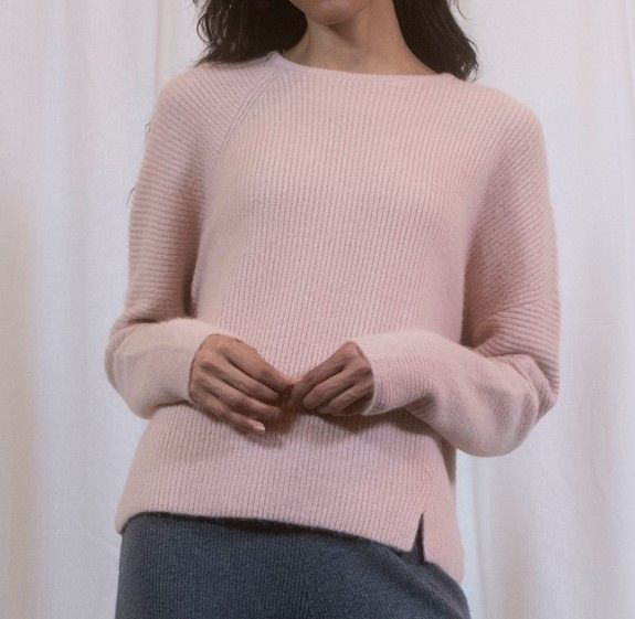 Pink Mixed Blend Chunky Knit