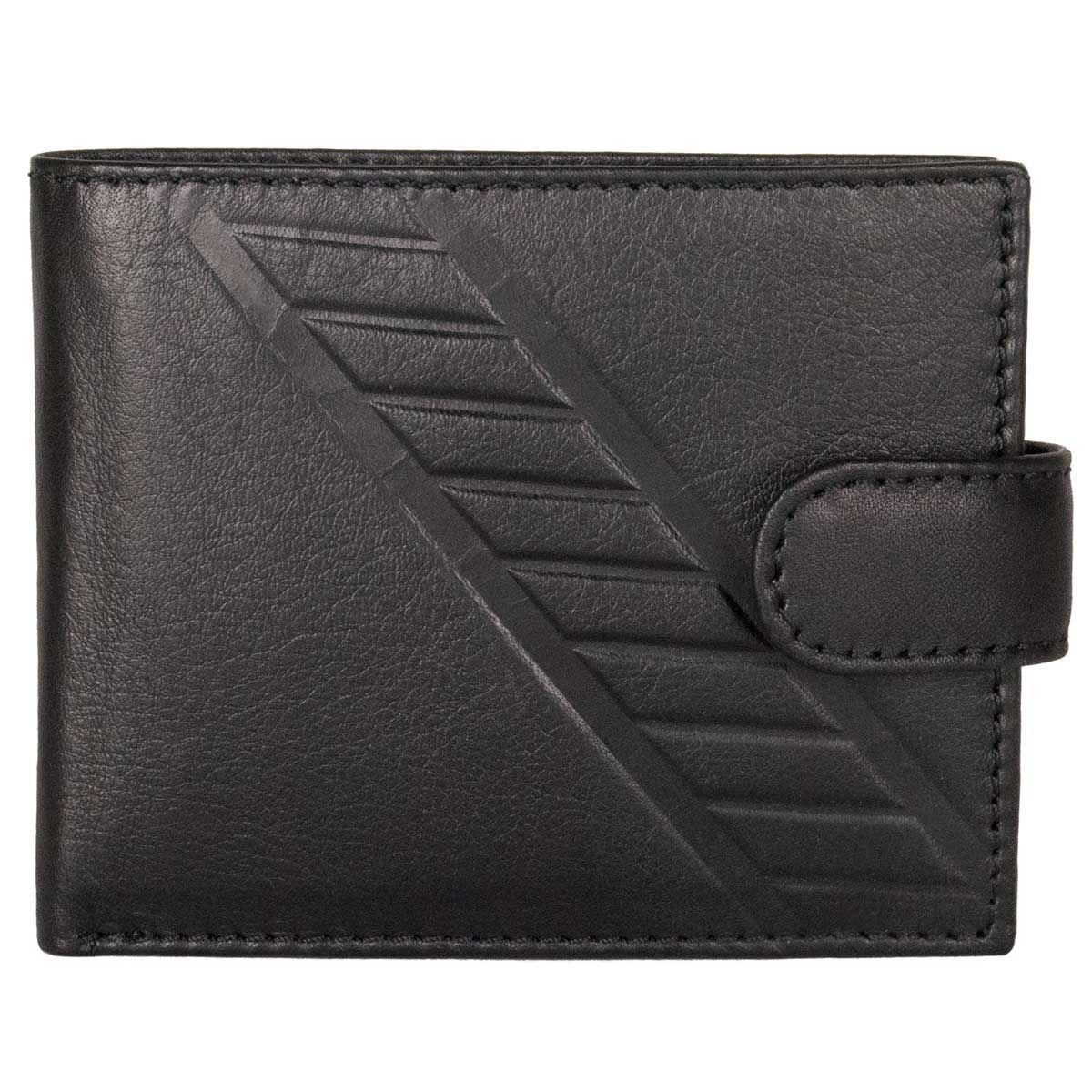 Leather wallet Montevita in Black