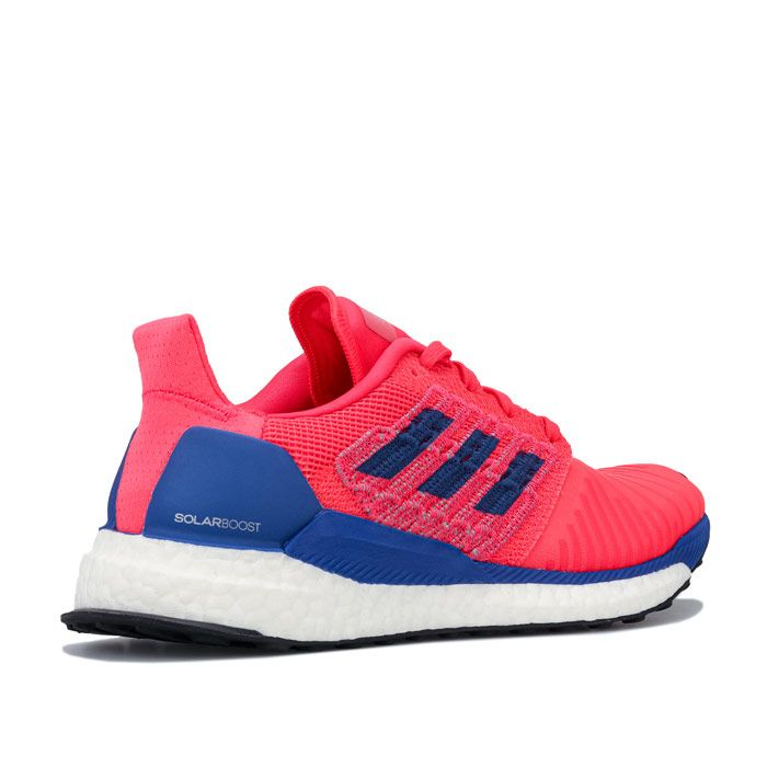 Women's adidas Solar Boost Running Shoes in Red