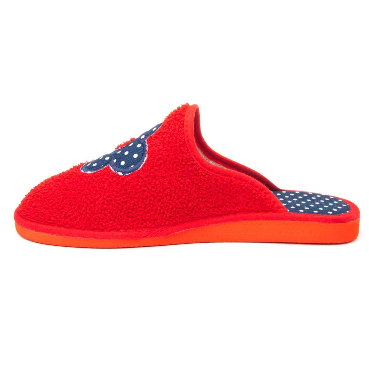Northome Comfortable Slipper in Red