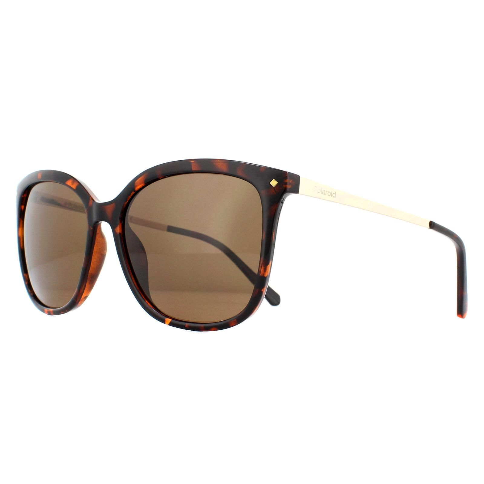 Polaroid Sunglasses PLD 4043/S NHO IG Havana Gold Brown Polarized