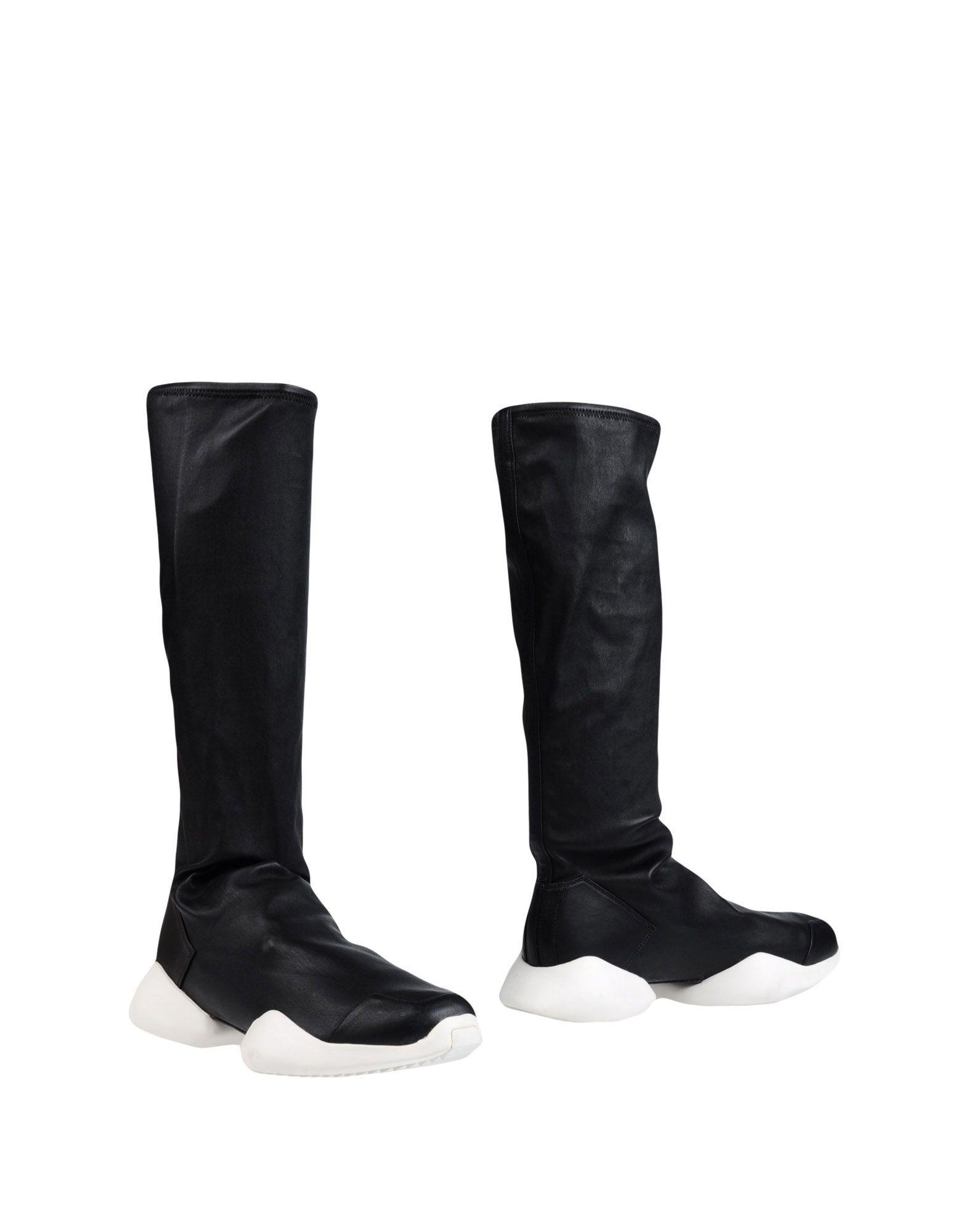 Rick Owens X Adidas Man Boots Leather