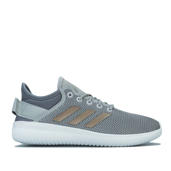 Women's adidas Cloudfoam QT Flex Trainers in Grey