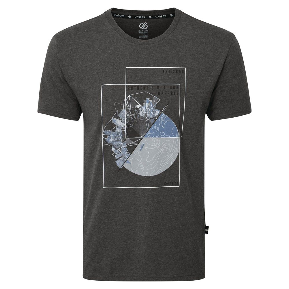 Dare 2b Mens Integrate Cotton Casual Graphic T Shirt Tee