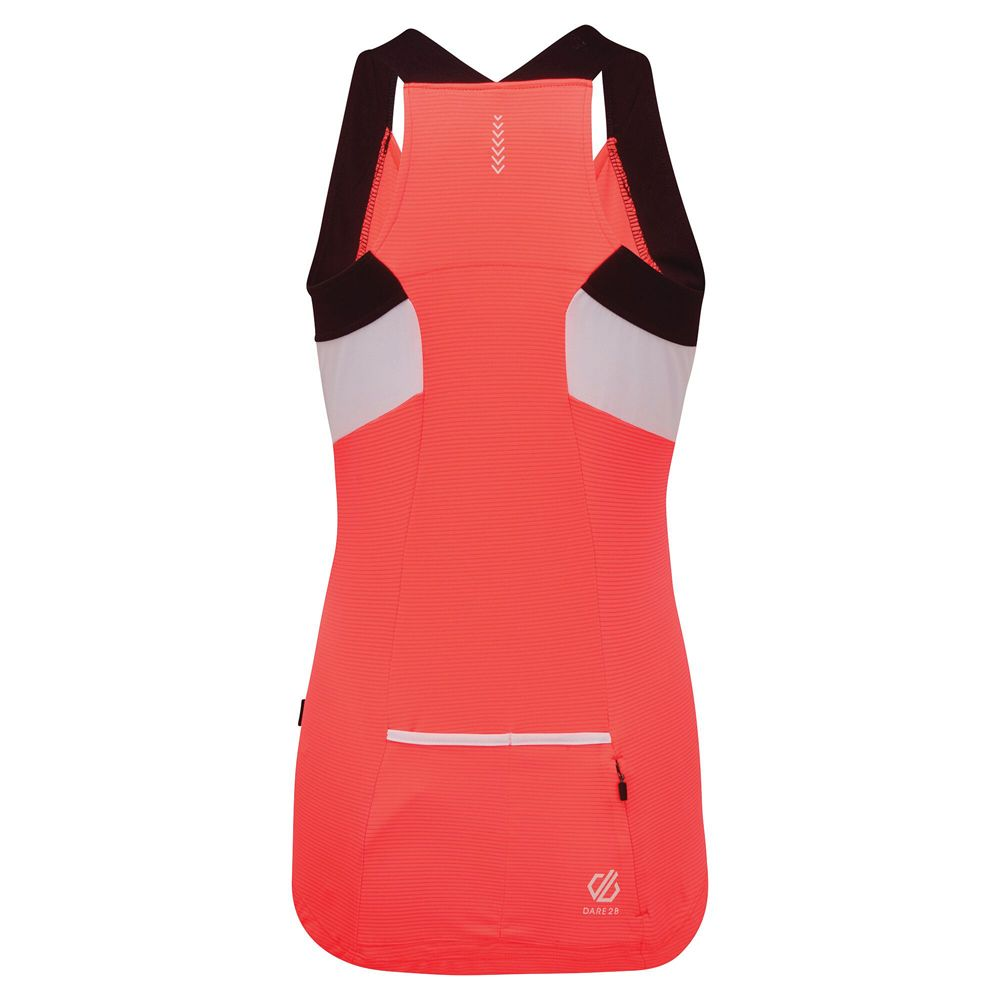 Dare 2b Womens Regale Wicking Full Zip Cycling Vest Top