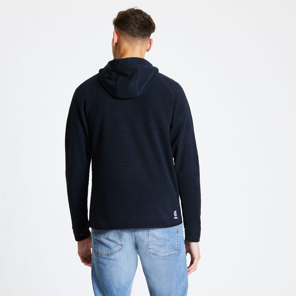Dare 2b Mens Forgo Polyester Half Zip Hooded Fleece Jacket