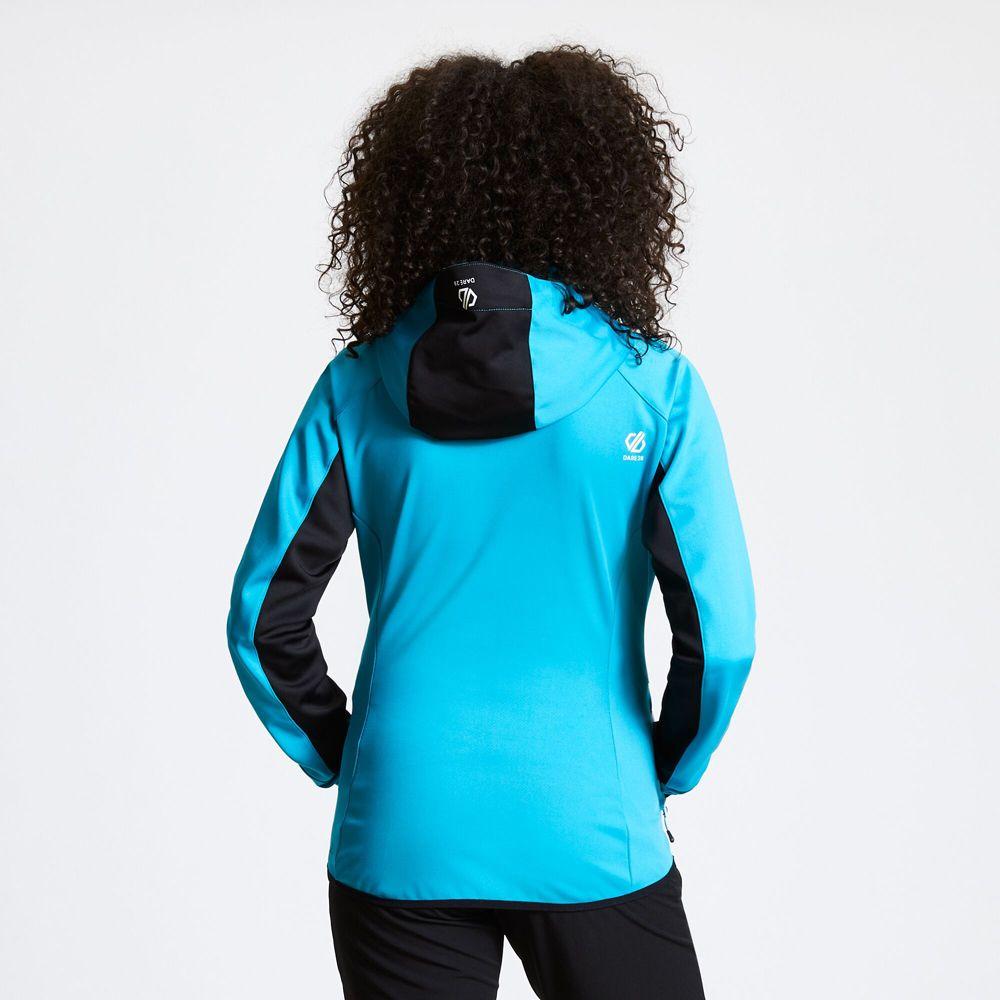 Dare 2b Womens Incentive Full Zip Hooded Softshell Coat