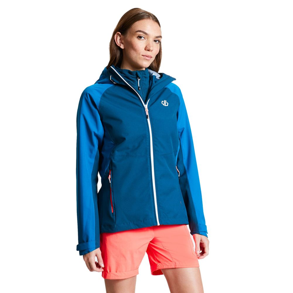Dare 2b Womens Compete Polyester Breathable Waterproof Coat