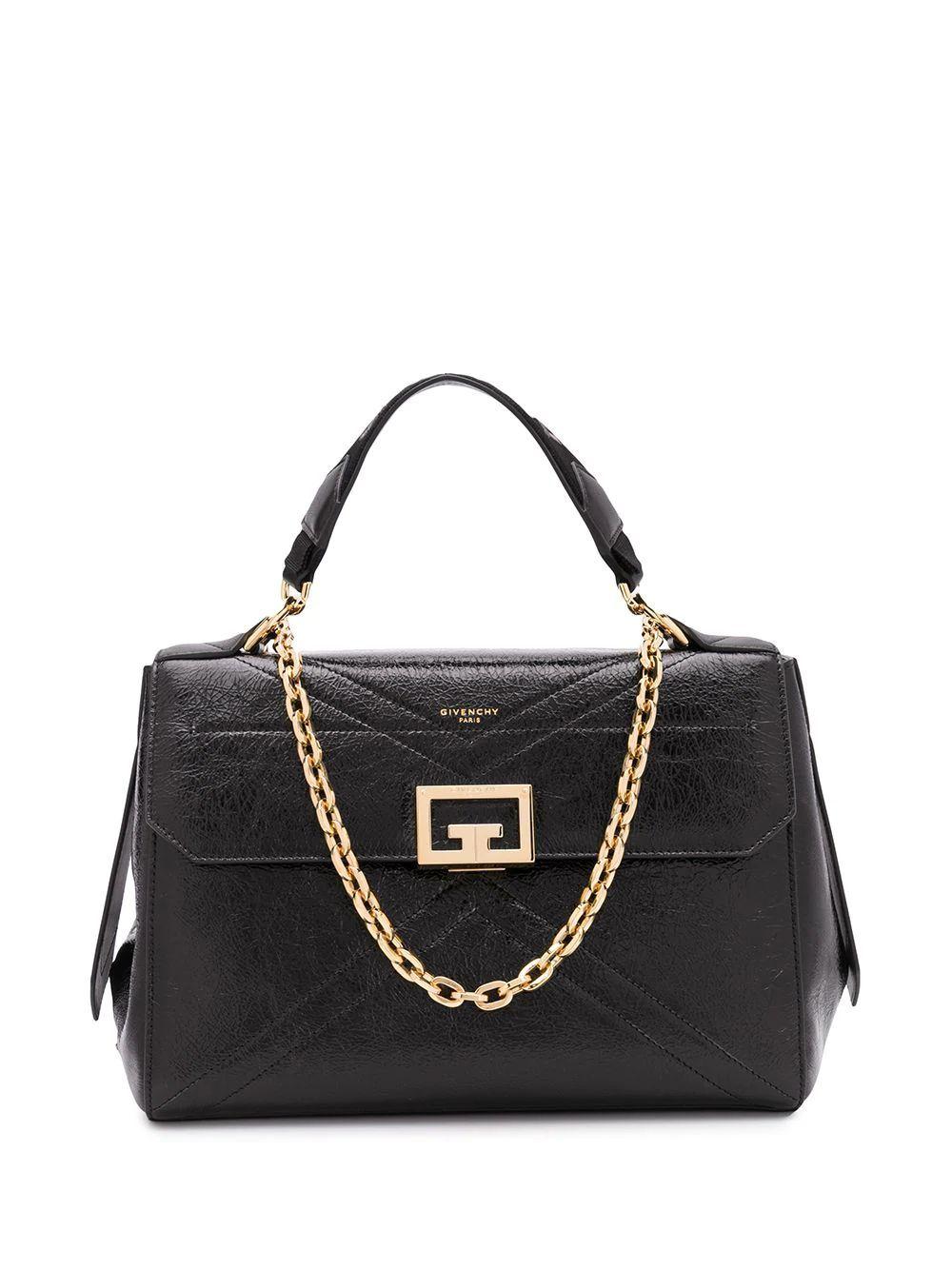 GIVENCHY WOMEN'S BB50C4B0S5001 BLACK LEATHER HANDBAG