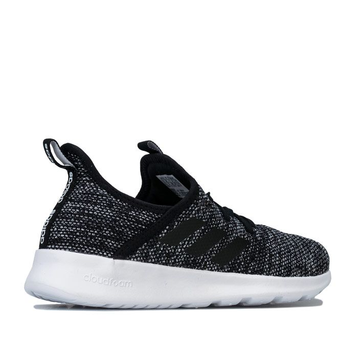 Women's adidas Cloudfoam Pure Trainers in Black