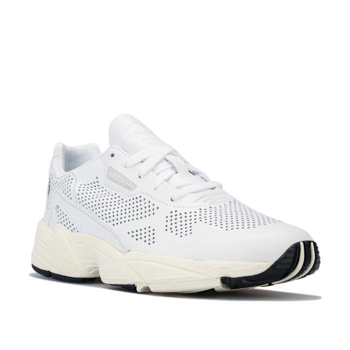 Women's adidas Originals Falcon Alluxe Trainers in White