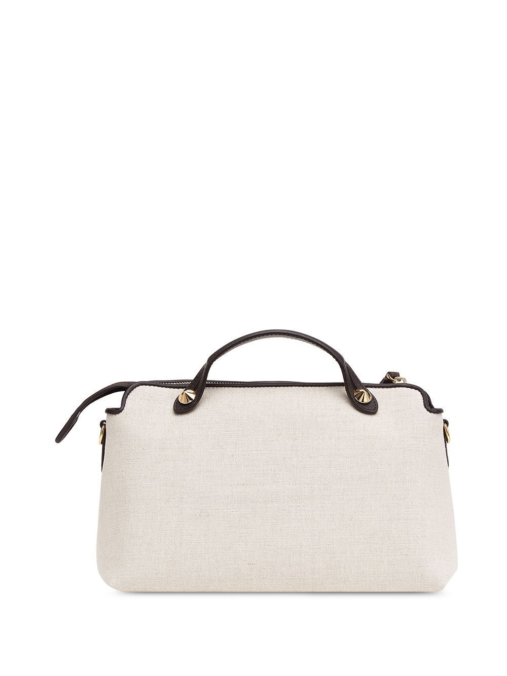 FENDI WOMEN'S 8BL146ABV9F1B8Q WHITE COTTON HANDBAG