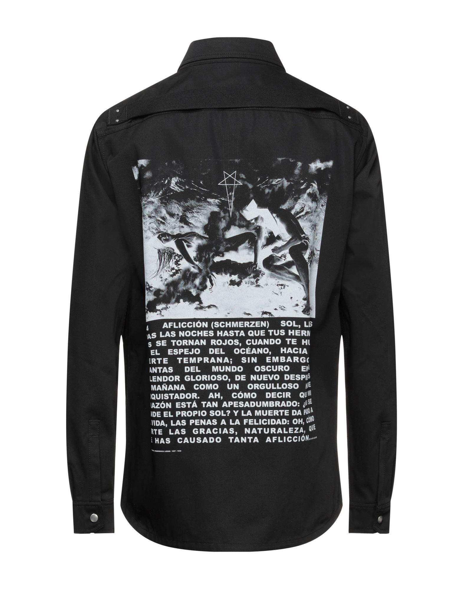 Drkshdw By Rick Owens Man Shirts Cotton
