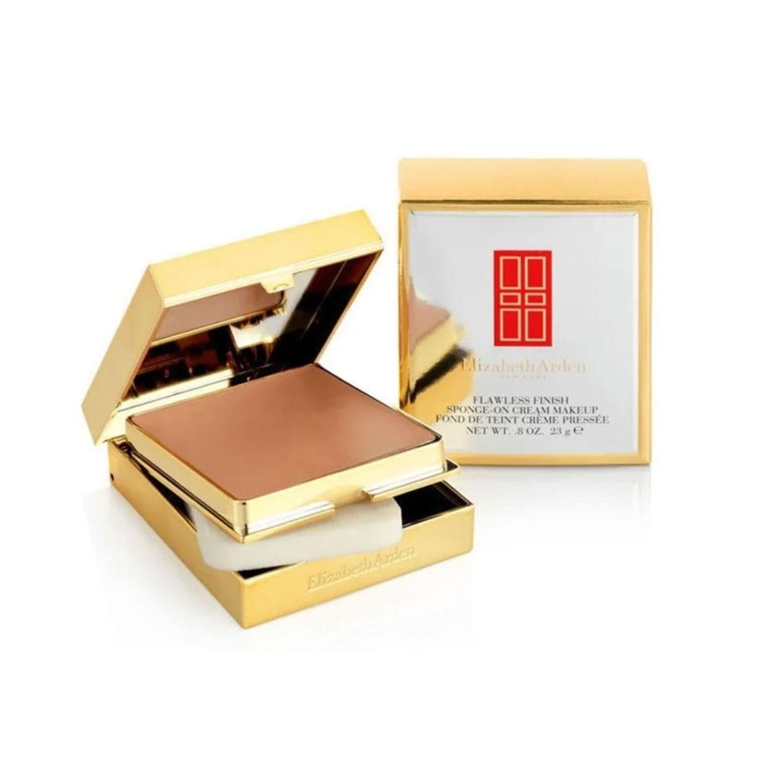 Elizabeth Arden Flawless Finish Sponge On Cream Makeup Compact Chestnut 23g