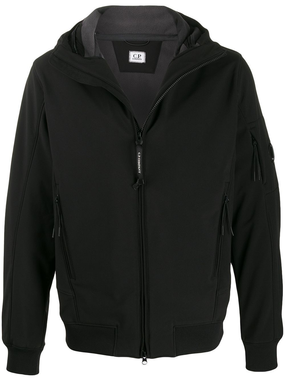 CP COMPANY MEN'S 07CMOW013A005242A999 BLACK SYNTHETIC FIBERS OUTERWEAR JACKET
