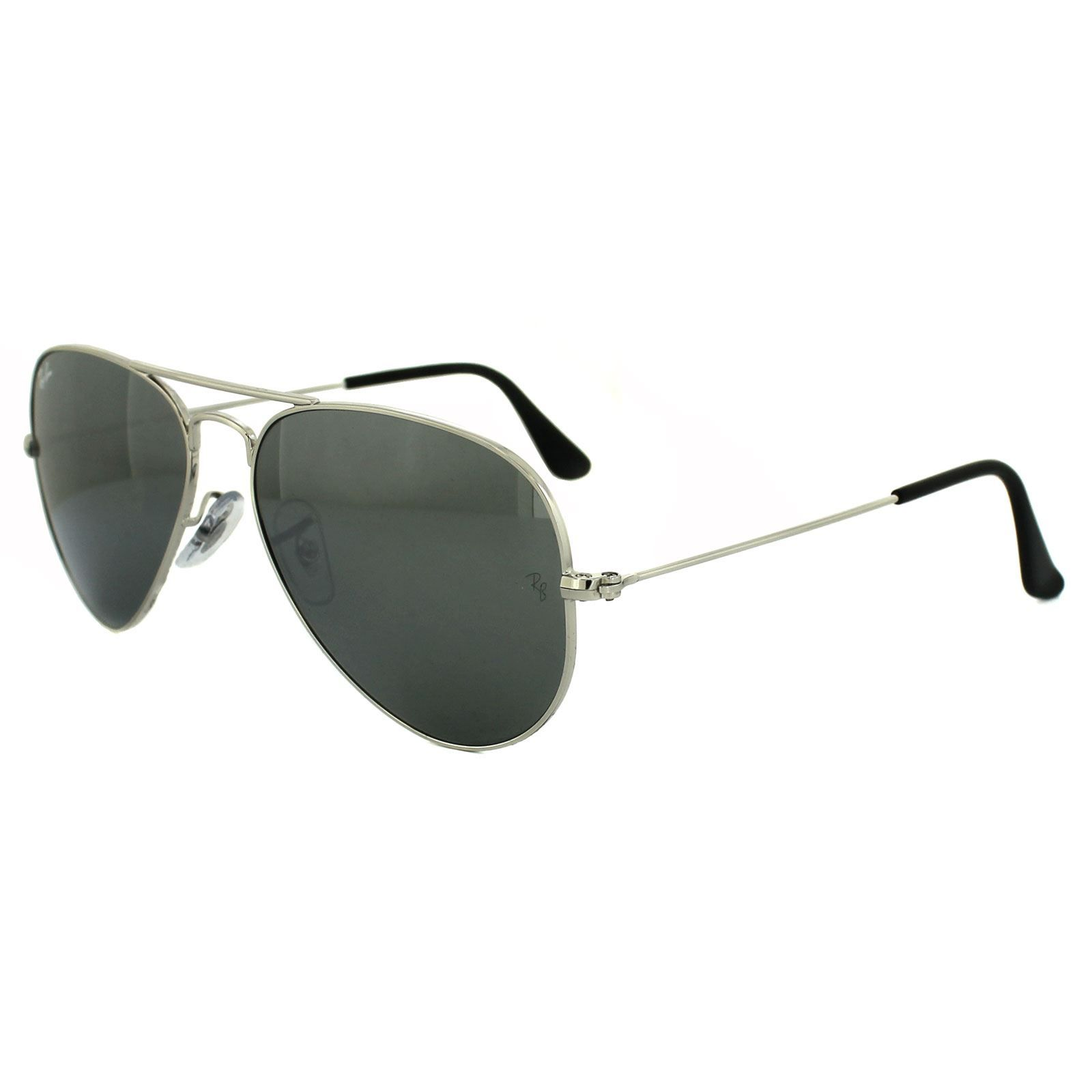 Ray-Ban Sunglasses Aviator 3025 W3275 Silver Grey Mirror 55mm