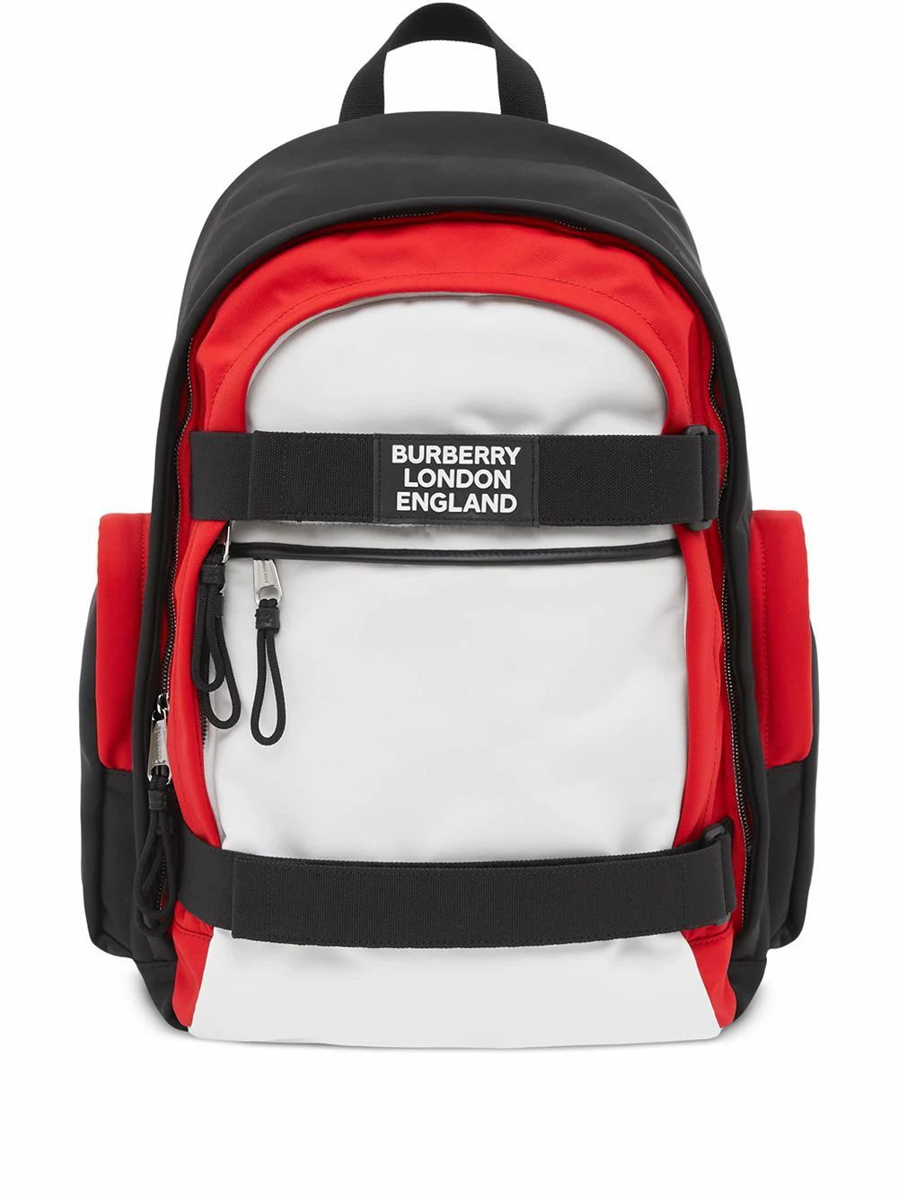 BURBERRY MEN'S 8023642 WHITE POLYESTER BACKPACK