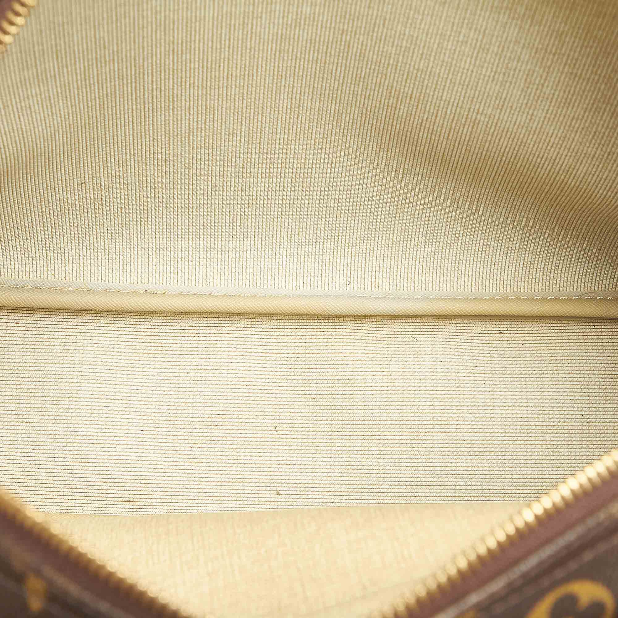 Vintage Louis Vuitton Monogram Reporter PM Brown