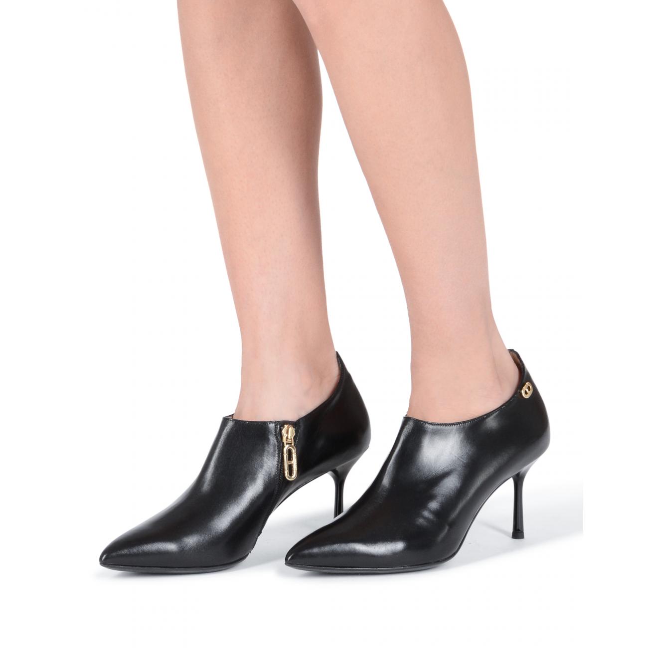 Dee Ocleppo Women's Ankle Boot Black DO28 NAPPA NERO