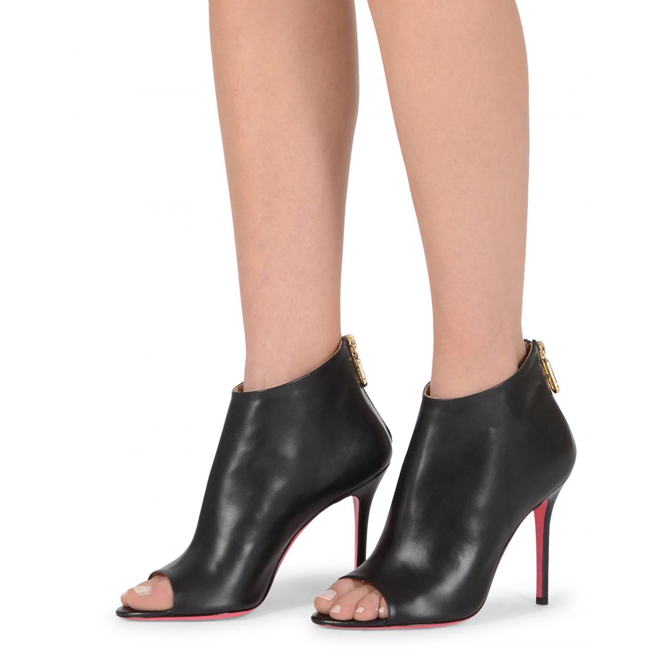 Dee Ocleppo Women's Ankle Boot Black OC3401 NAPPA NERO