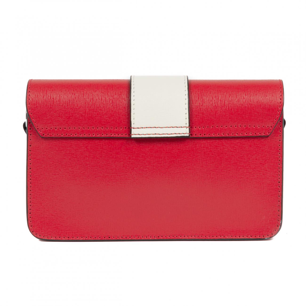 Dee Ocleppo Womens Handbag MB009 SAFFIANO ROSSO
