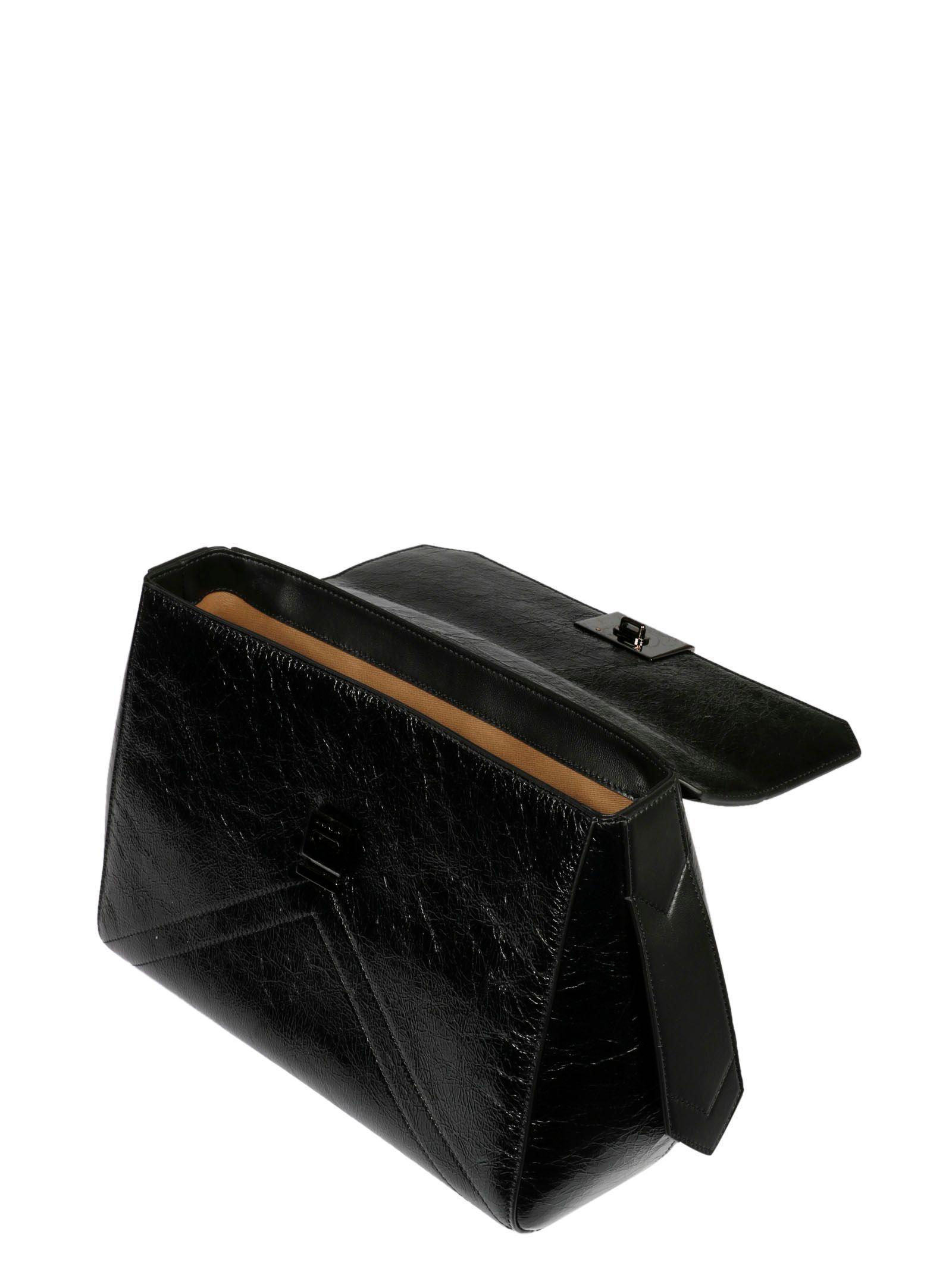 GIVENCHY WOMEN'S BB50C4B0TT001 BLACK LEATHER HANDBAG