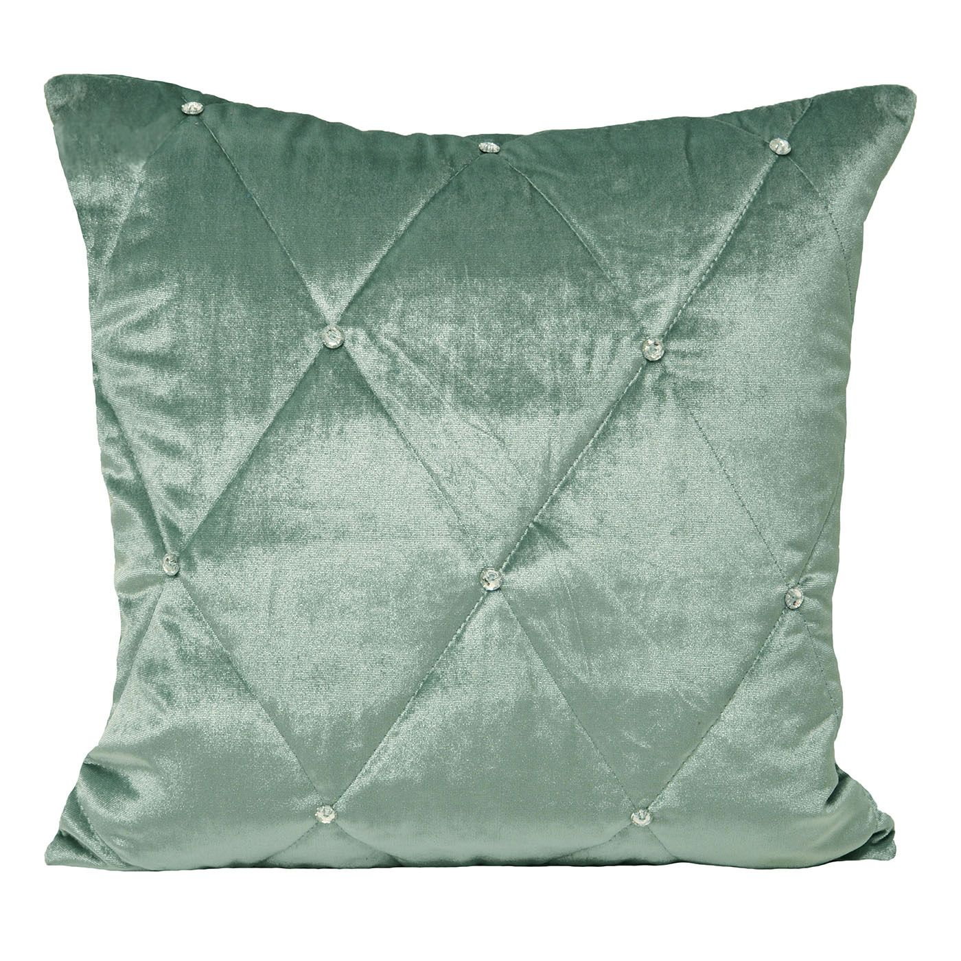 Diamante Polyester Filled Cushion