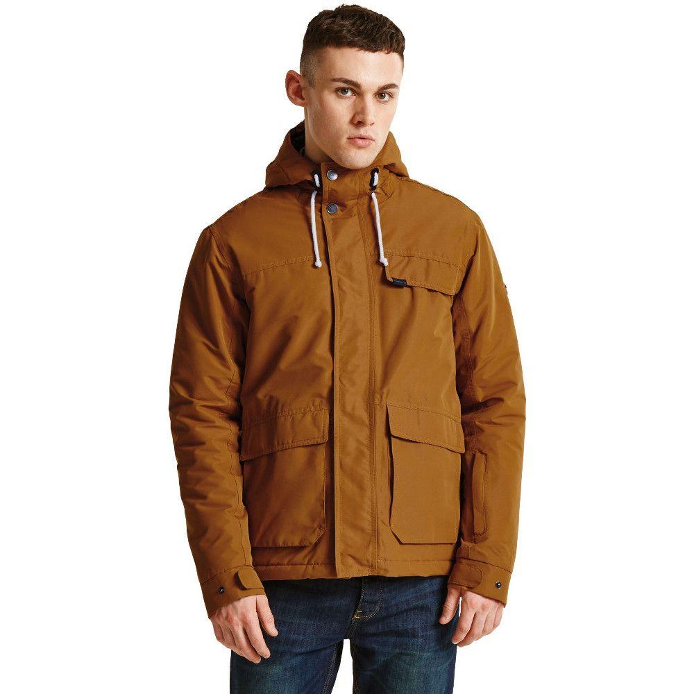 Dare 2b Mens Knavish Waterproof Breathable Insulated Soft Jacket Coat