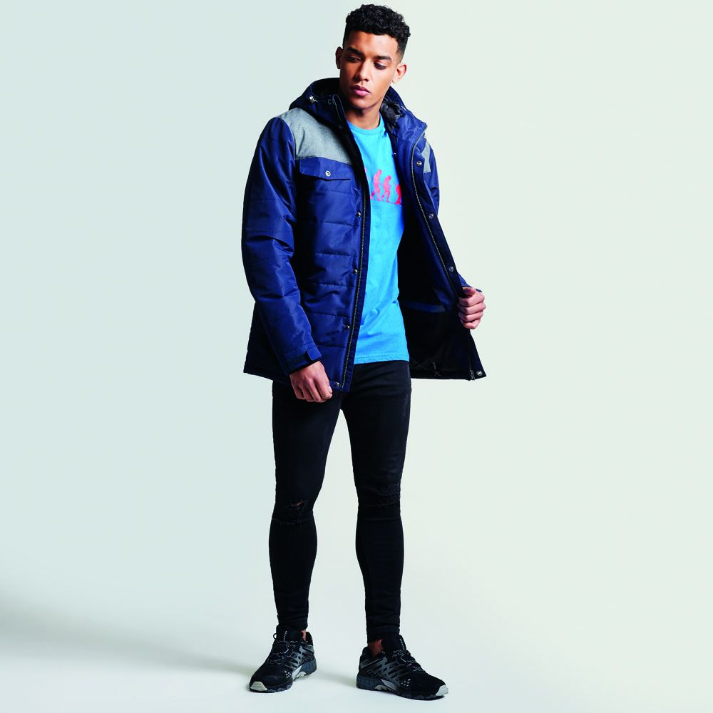 Dare 2b Mens Level Up Waterproof Breathable Warm Jacket Coat