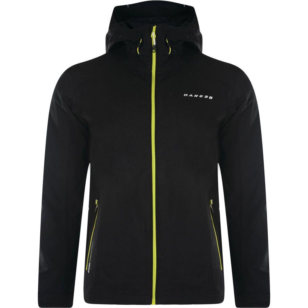 Dare 2b Mens Rectitude II Waterproof Breathable Hooded Coat Jacket