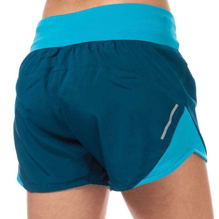 Women's adidas Run It 4 Inch Shorts in Dark Blue