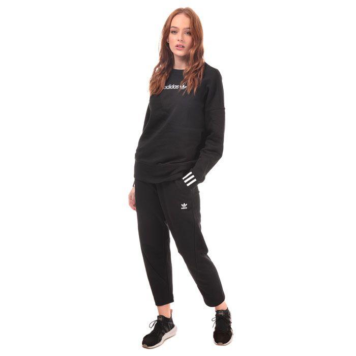 Women's adidas Originals Coeeze Crew Sweatshirt in Black