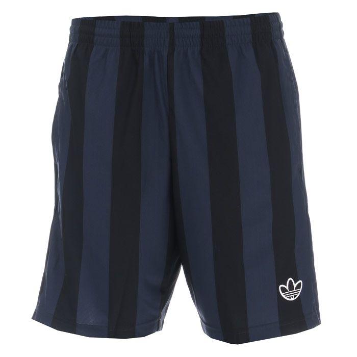 Men's adidas Originals Stripes Shorts in Black