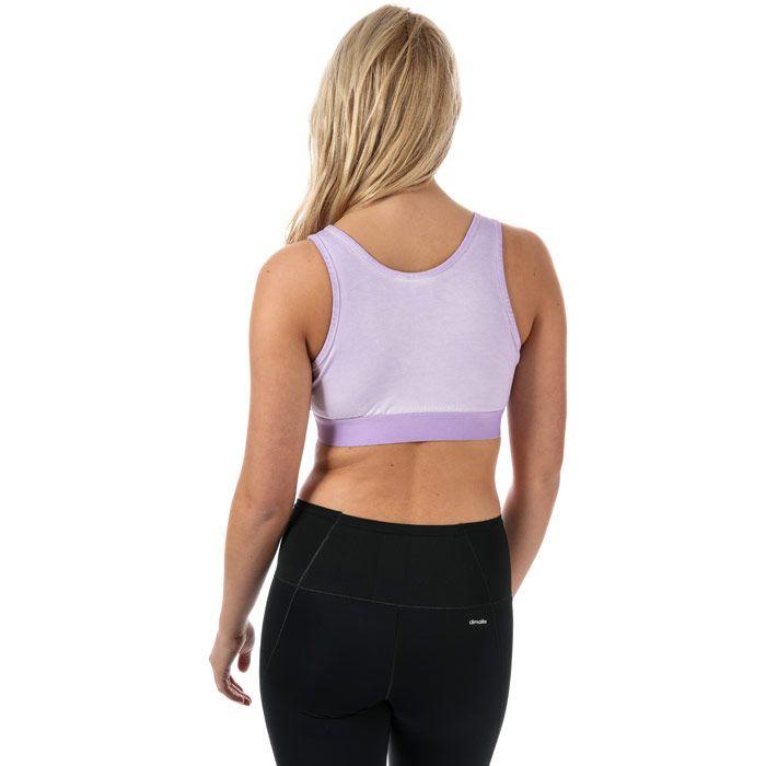 Women's adidas Originals Bra Top in Purple
