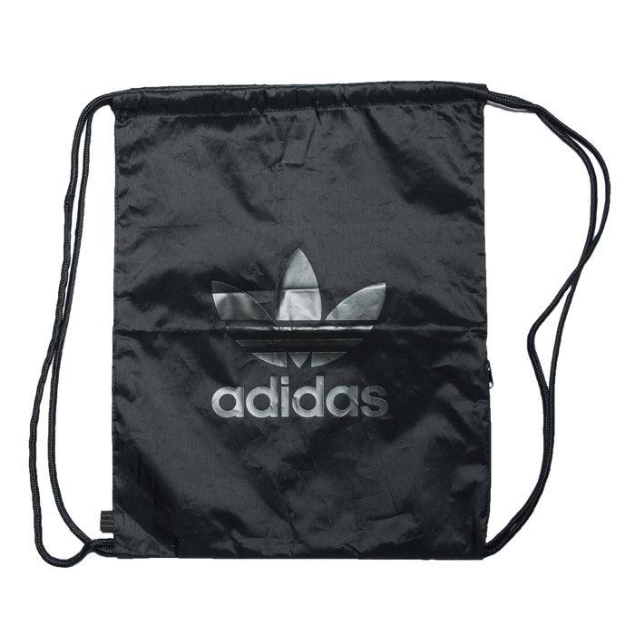 Accessories adidas Originals Trefoil Gymsack Black One Sizein Black