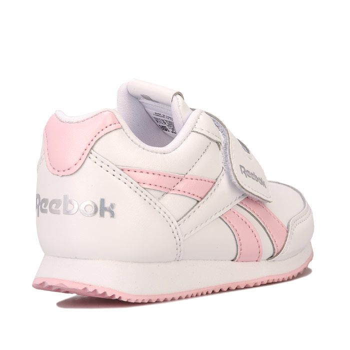 Girl's Reebok Infant Royal Jogger Trainers in White
