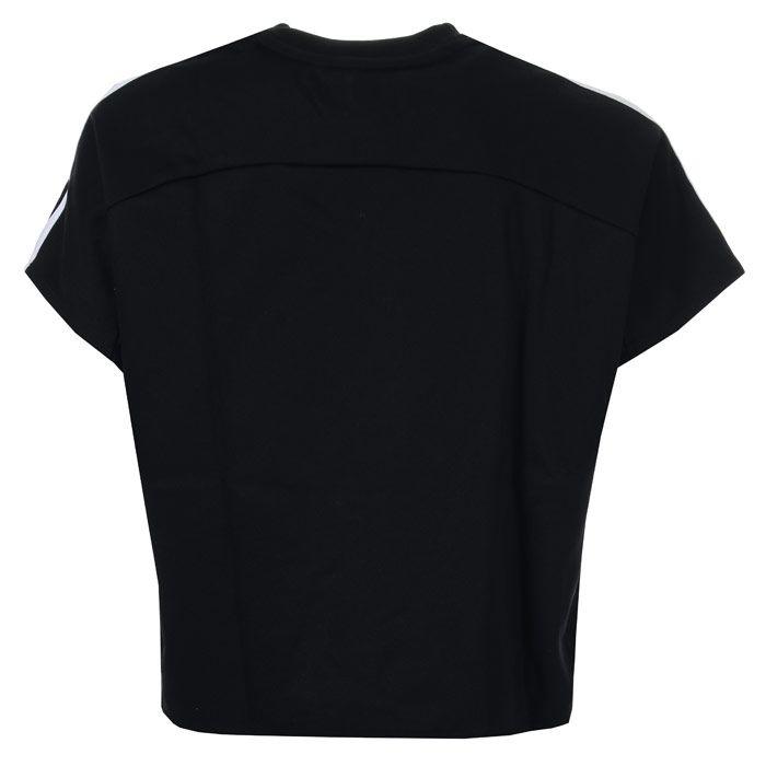 Women's adidas AtT-Shirttude T-Shirt in Black-White