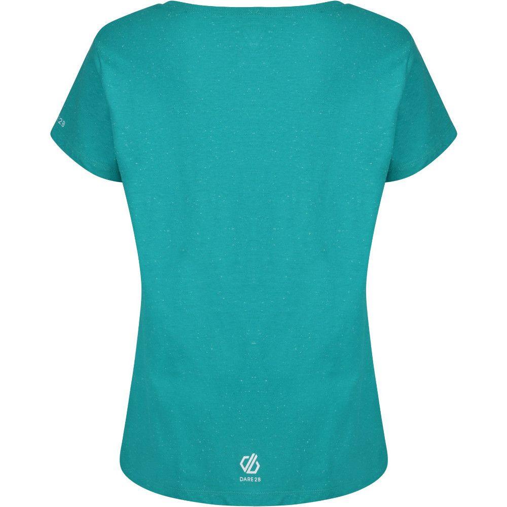 Dare 2b Womens Glow Up Graphic Cotton Short Sleeve T Shirt