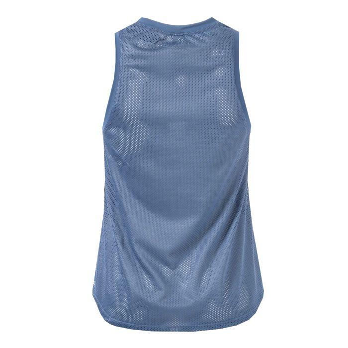 Women's adidas 3-Stripes Loose Tank Top in Blue