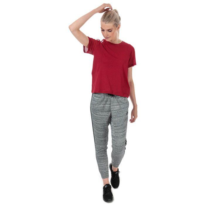 Women's adidas Must Haves Melange Pants in Black Marl