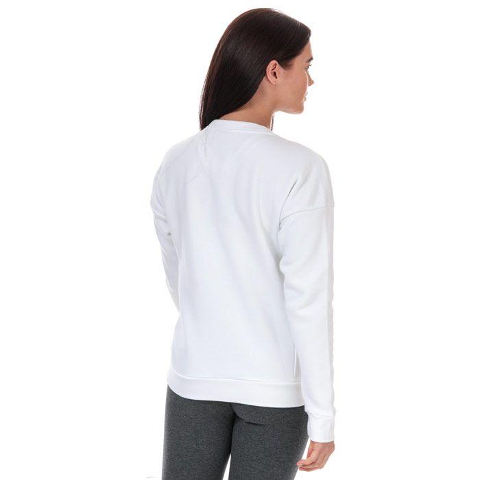 Women's adidas Must Haves Bos Crew Sweatshirt in White