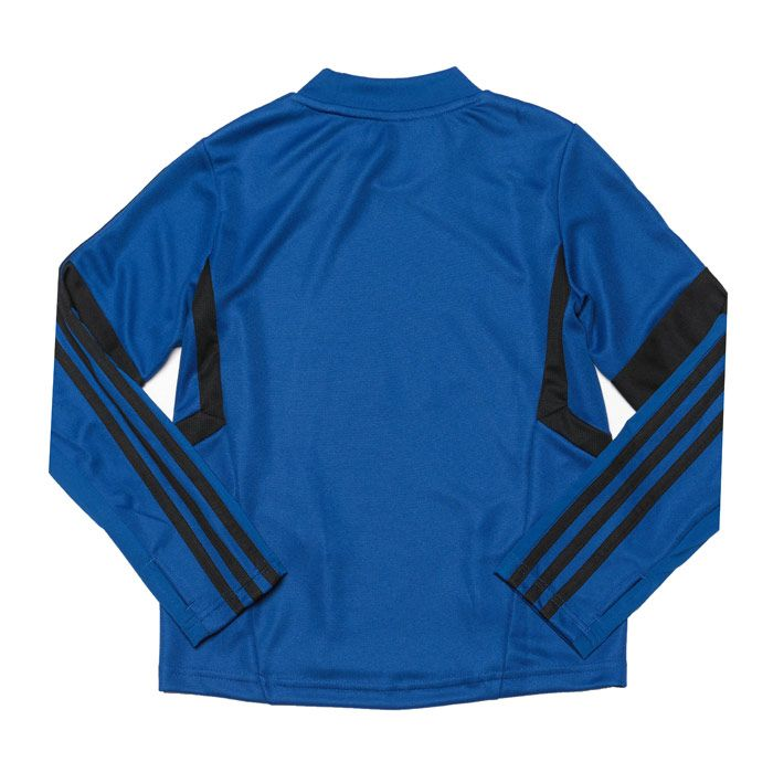 Boys' adidas Junior MUFC Training Top in Blue