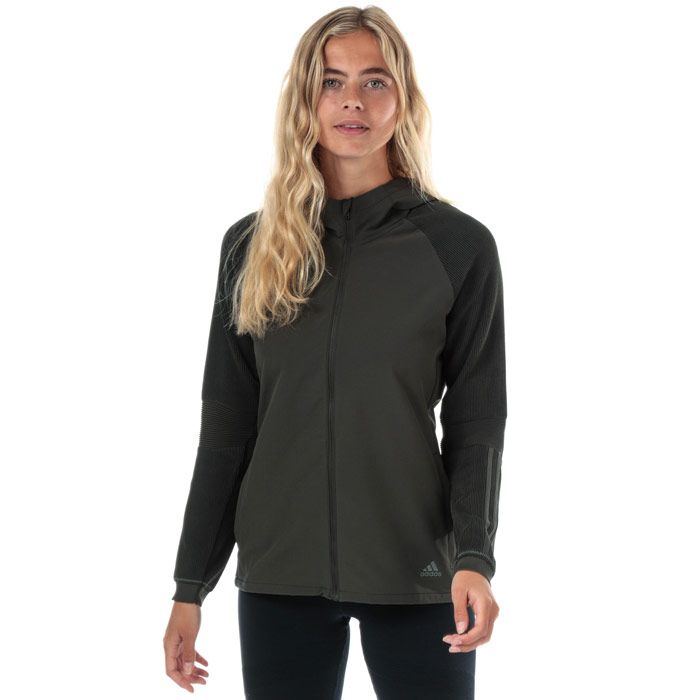 Women's adidas PHX 2 Jacket in olive