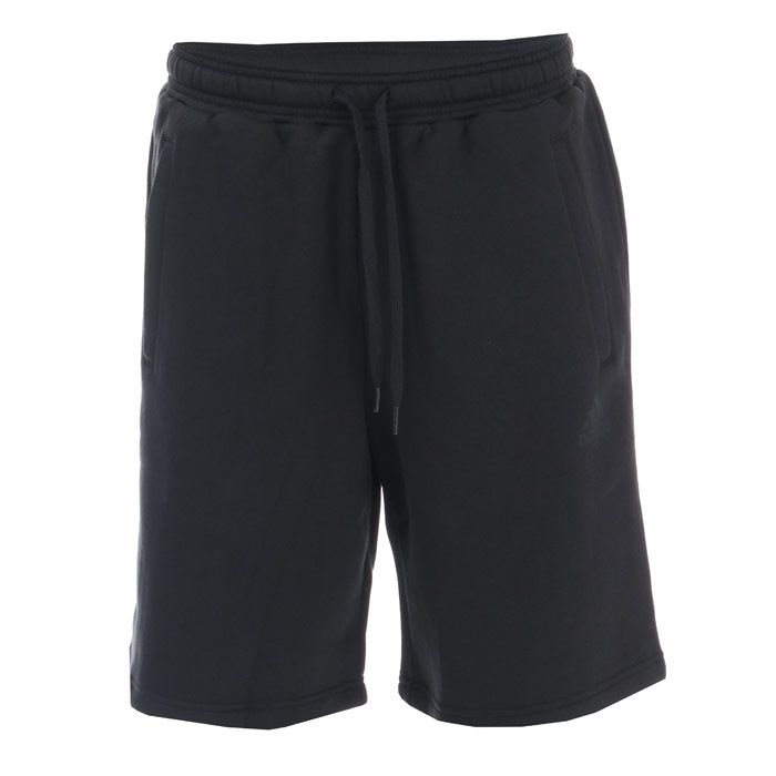 Men's adidas TAN Sweat Shorts in Black