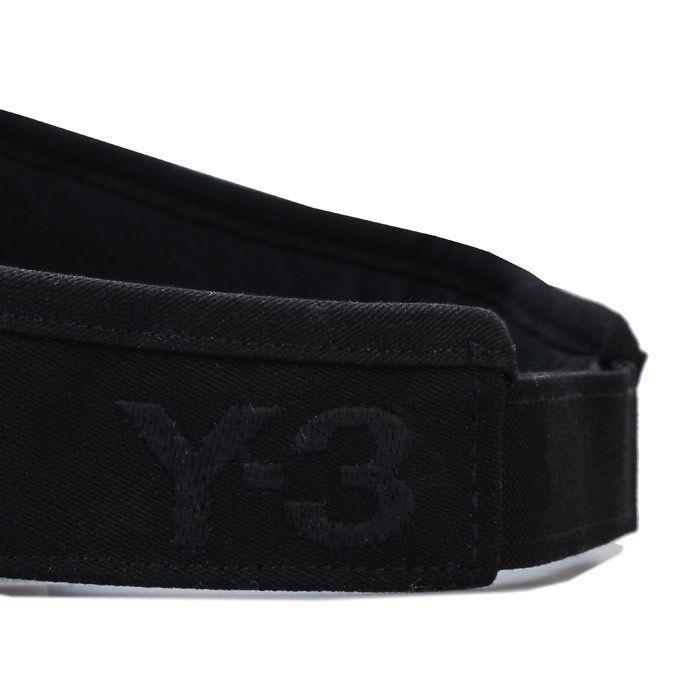 Accessories Y-3 Long Visor in Black