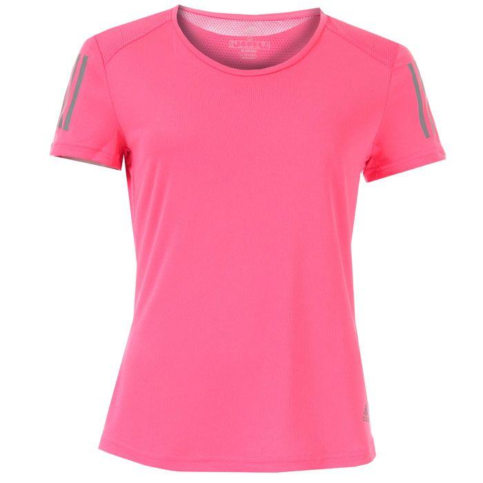 Women's adidas Own The Run T-Shirt in Pink