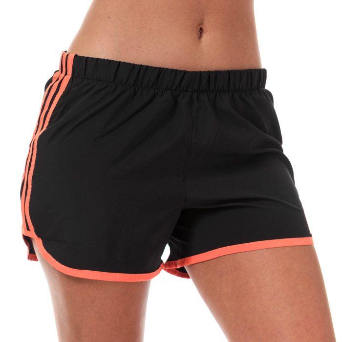 Women's adidas Marathon 20 4 Inch Shorts in Black
