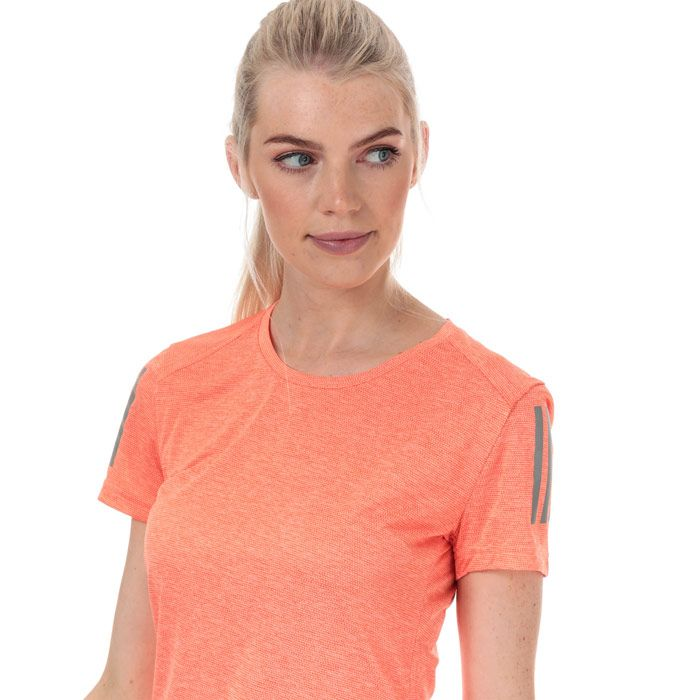Women's adidas Own The Run T-Shirt in Pink