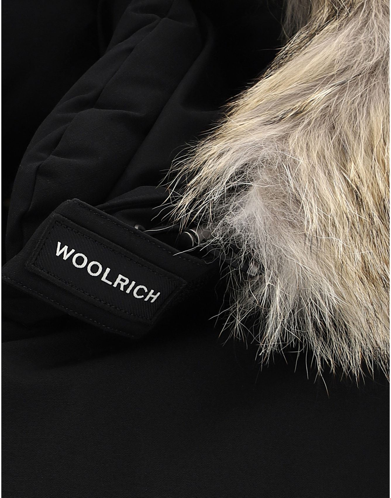 WOOLRICH MEN'S WOCPS2896UT0001BLK BLACK COTTON OUTERWEAR JACKET