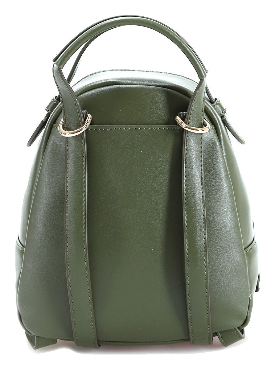 LIU JO WOMEN'S AA0140E0015X0261 GREEN FAUX LEATHER BACKPACK